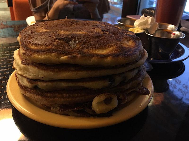 Ähmmm.. das nenne ich mal Pfannkuchen!